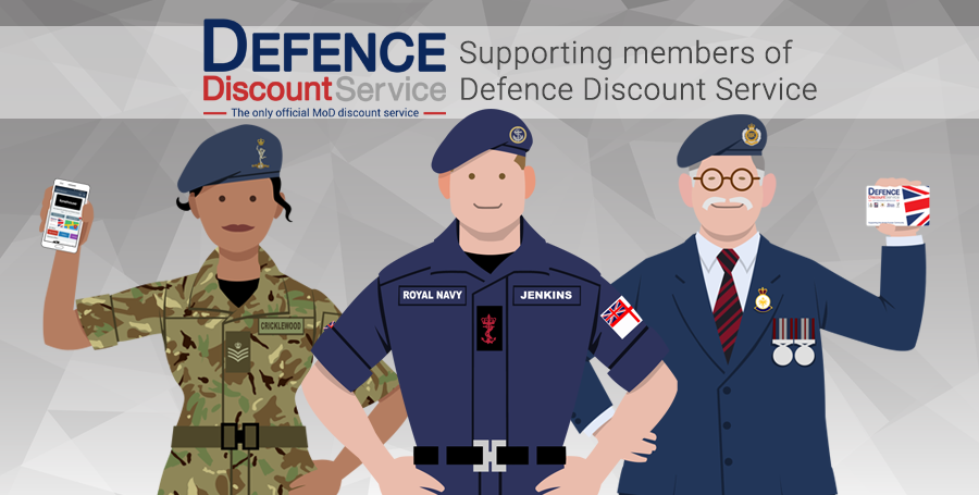 Supporting Defence Discount Service